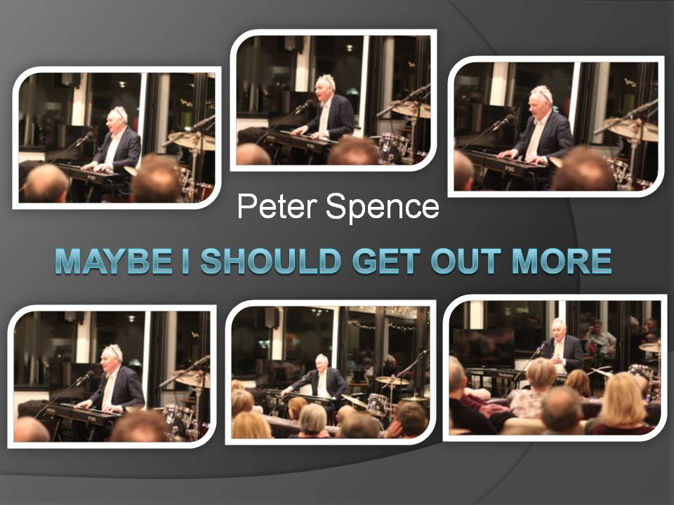 Peter Spence Show Poster and pics